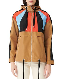 Maje - Banela Colorblock Windbreaker Jacket