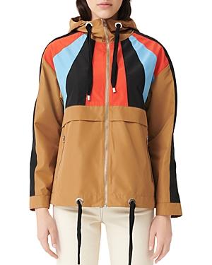 Maje Banela Colorblock Windbreaker Jacket-Women