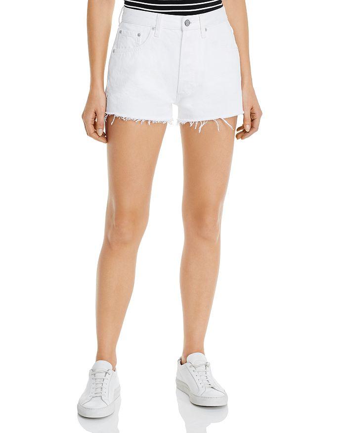 Boyish Jeans The Cody High Rise Denim Shorts In Vertigo