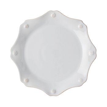 Juliska - Berry & Thread Twilight Grey Scalloped Dessert/Salad Plate - 100% Exclusive