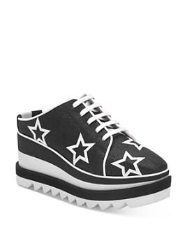 Stella McCartney - Women's Star-Printed Platform Wedge Sneakers