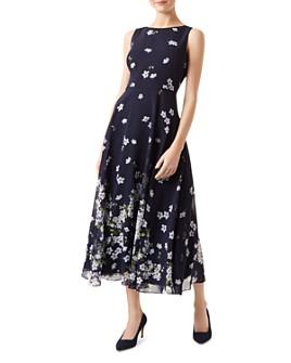 HOBBS LONDON - Carly Floral Midi Dress