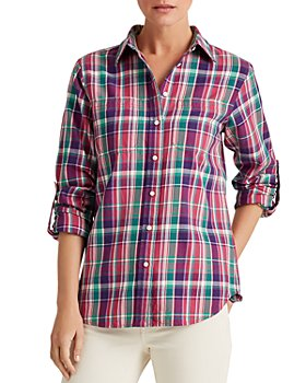 Ralph Lauren - Plaid Roll-Tab Shirt