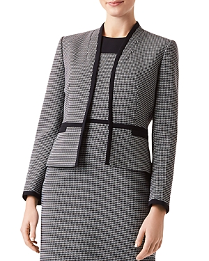 Hobbs London Brianna Open-Front Jacket