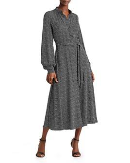 Ralph Lauren - Puff-Sleeve Shirt Dress