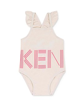 Kenzo - Girls' Ruffled One-Piece Swimsuit - Baby