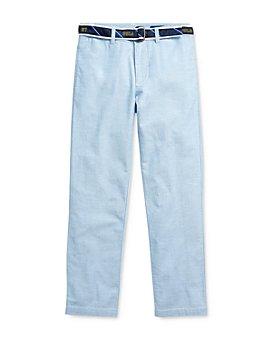 Ralph Lauren - Boys' Belted Oxford Skinny Pants - Big Kid