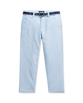 Ralph Lauren - Boys' Belted Oxford Skinny Pants - Little Kid