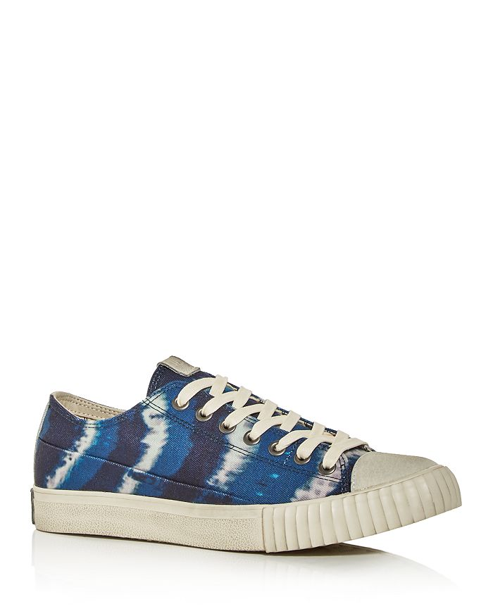 John Varvatos Bootleg - Men's Vulcanized Tie-Dye Low-Top Sneakers