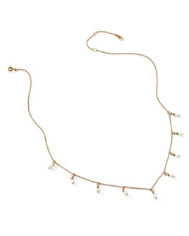 """Nadri - Nectar Cultured Freshwater Pearl Shaky Necklace, 16-18"""""""
