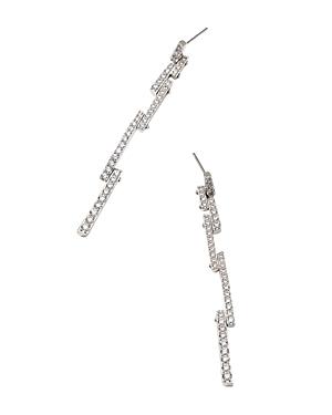 Nadri Cubic Zirconia Linear Bar Drop Earrings-Jewelry & Accessories
