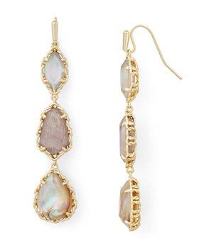 Kendra Scott - Gwenyth Stone Linear Drop Earrings