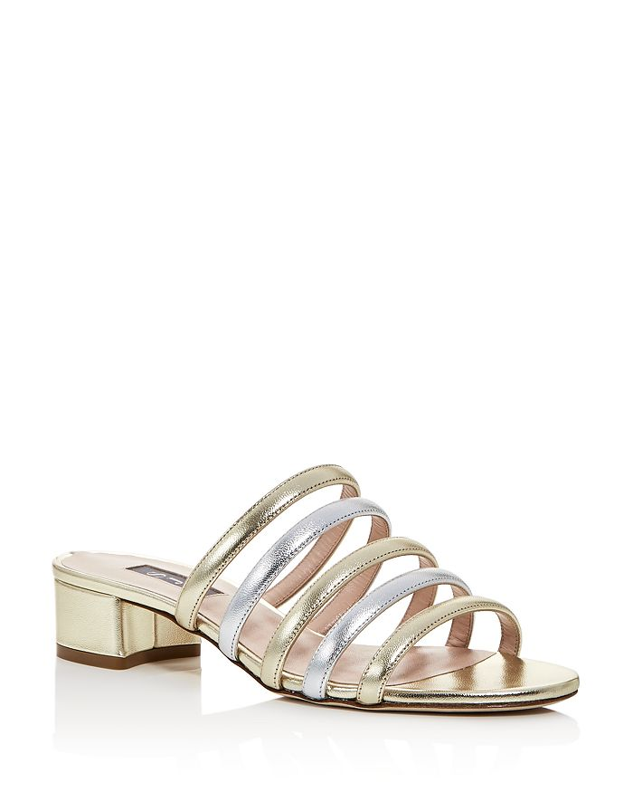 SJP by Sarah Jessica Parker - Women's Court Strappy Slide Sandals