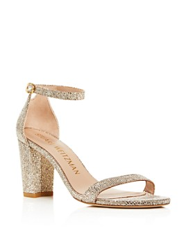 Stuart Weitzman - Women's Nearlynude Ankle Strap Sandals