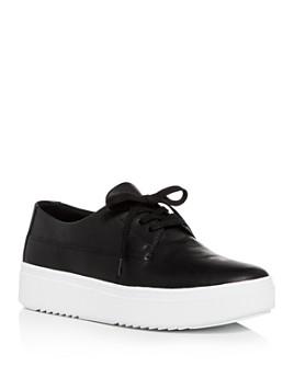 Eileen Fisher - Women's Low-Top Platform Sneakers