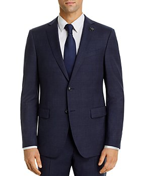 John Varvatos Star USA - Bleecker Tonal-Plaid Slim Fit Suit Jacket