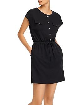 AQUA - Utility Mini Dress