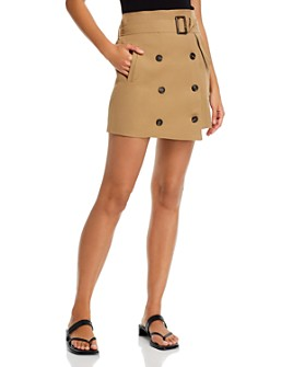 FORE - Belted Utility Mini Skirt