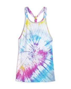 Limeapple - Girls' Tofino Tie-Dyed Cover-Up - Little Kid, Big Kid