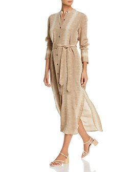 Equipment - Connell Silk Utility Midi Dress