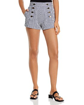 Derek Lam 10 Crosby - Robertson High Waist Sailor Shorts