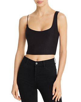 ALIX NYC - Gracie Asymmetrical Straps Cropped Top