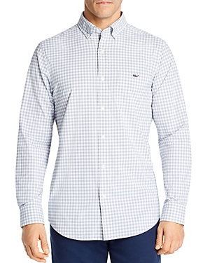 Vineyard Vines Checked Evernia Tucker Classic-Fit Button-Down Shirt-Men