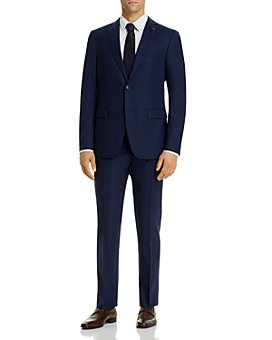 John Varvatos Star USA - Bleecker/Street Micro-Check Slim Fit Suit Separates