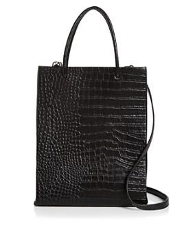 AQUA - Large Croc Shopper Tote - 100% Exclusive