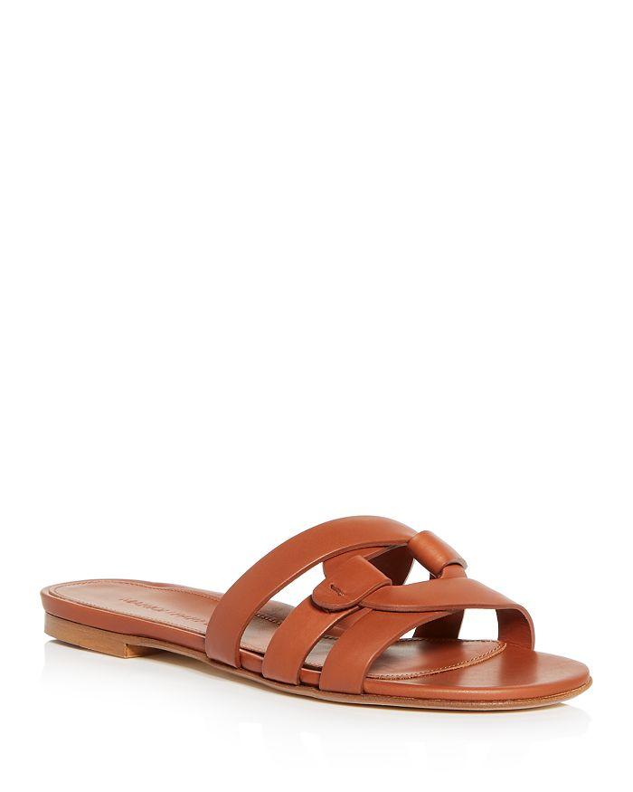 MARION PARKE - Women's Jenny Interlocking Slide Sandals