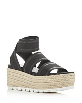 J/Slides - Women's Quartz Wedge Platform Sandals