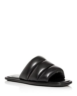 Proenza Schouler - Women's Quilted Slide Sandals