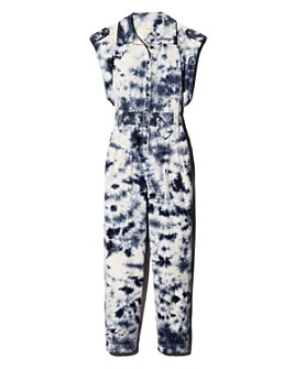 Rebecca Taylor - Tie-Dyed Belted Jumpsuit