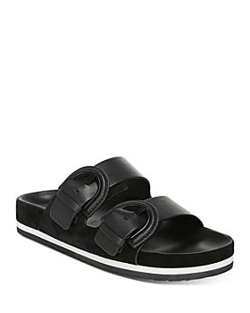 Vince - Women's Glyn Double-Buckle Slide Sandals