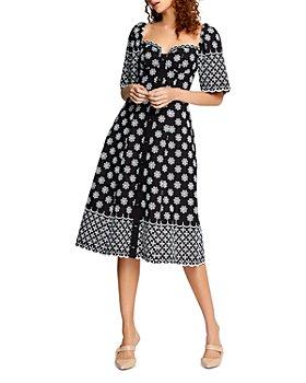 Alice McCall - Angels Cotton Floral-Print Midi Dress