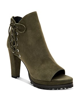ALLSAINTS - Women's Michela Open-Toe High-Heel Booties