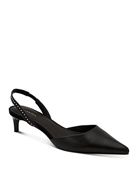 ALLSAINTS - Women's Mia Pointed Slingback Pumps