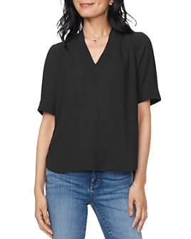 NYDJ - Charming Oversized V-Neck Top