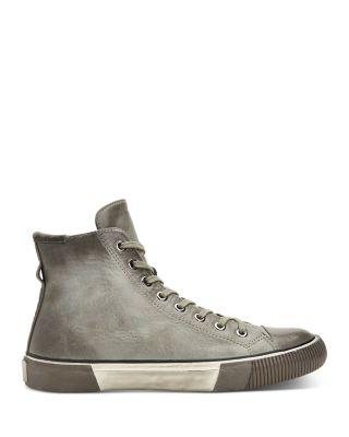 Osun Leather High-Top Sneakers