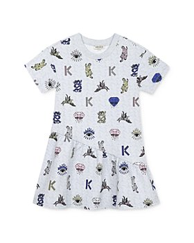 Kenzo - Girls' Printed Dress - Big Kid