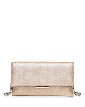 Loeffler Randall - Tab Convertible Leather Clutch