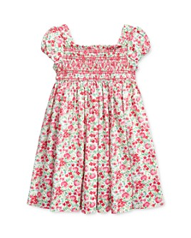 Ralph Lauren - Girls' Floral Smocked Dress - Little Kid