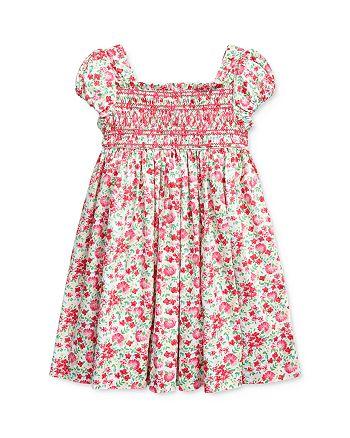 Ralph Lauren - Girls' Floral Smocked Dress - Little Kid