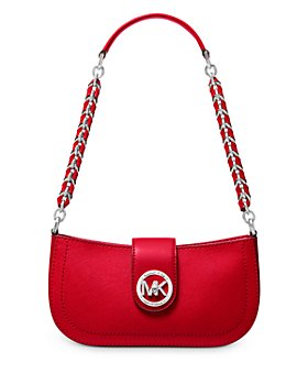 MICHAEL Michael Kors - Small Carmen Leather Pouchette Shoulder Bag