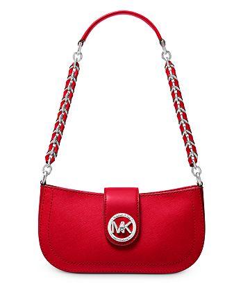 MICHAEL Michael Kors - Small Carmen Leather Pouchette Shoulder Bag