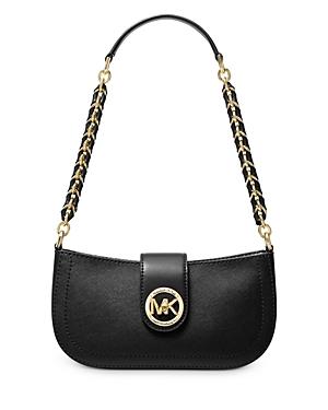 Michael Michael Kors Small Carmen Leather Pouchette Shoulder Bag