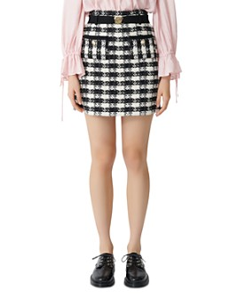 Maje - Jicky Tweed Mini Skirt