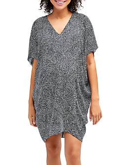 Nom Maternity - Marianna Dolman-Sleeve Maternity & Nursing Dress