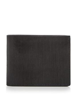 John Varvatos Star USA - Scored Leather Bi-Fold Wallet