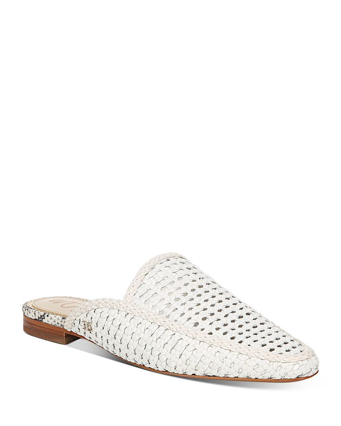 Sam Edelman - Women's Elva Slip On Woven Mule Flats